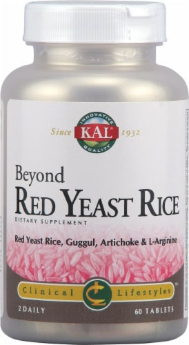 KAL  Beyond Red Yeast Rice Tablets Perspective: front