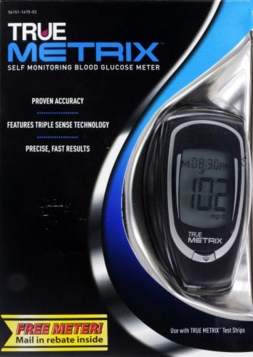 True Metrix Blood Glucose Meter Perspective: front