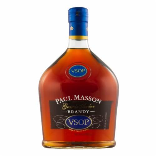 Paul Masson VS Grande Amber Brandy Perspective: front