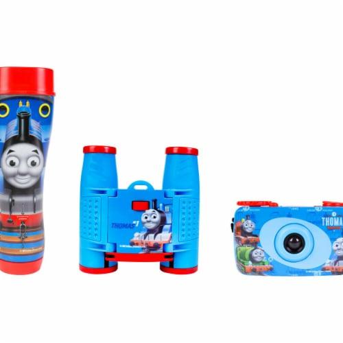 Sakar 26085 Thomas Train Kit with Camera, Binocular & Flashlight - Multicolor - 3 Piece Perspective: front