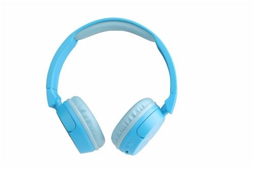 Altec Lansing Bluetooth 2 n 1 Over Ear Headphones - Blue Perspective: front
