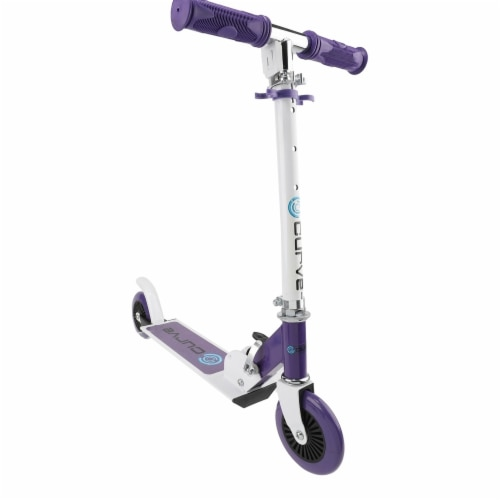 Curve ACTSCOT489CV-PU Standard Folding Lightweight Scooter, Purple Perspective: front
