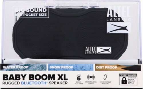 Altec Lansing Baby Boom Xl Bluetooth Speakers - Black Perspective: front