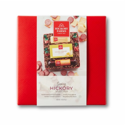 Hickory Farms Savory Selection Gift Set Perspective: front
