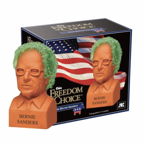 Chia® Freedom of Choice Bernie Sanders Perspective: front