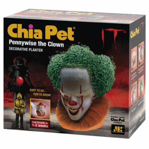 Chia Pet Planter - Pennywise the Clown Perspective: front