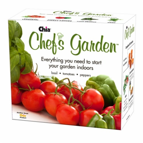Chia Pet Planter - Chef's Garden Planter Perspective: front