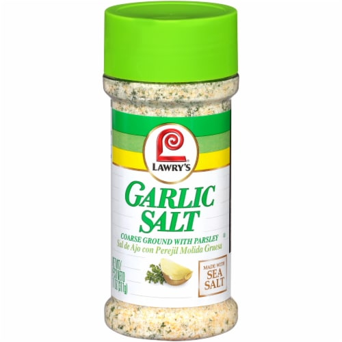 Lawry's Garlic Salt Perspective: front