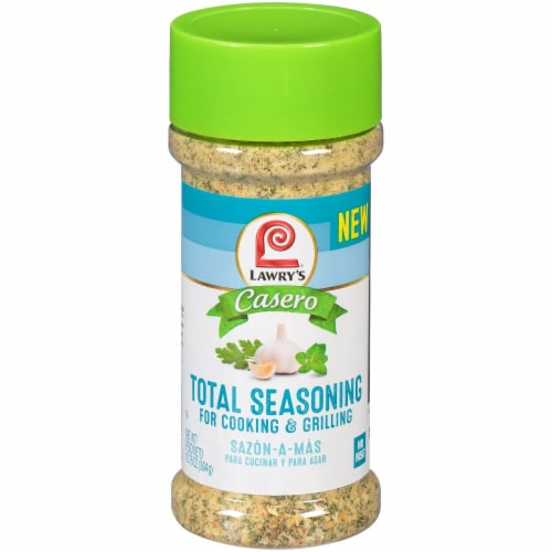 Lawry's Casero Total Seasoning for Cooking & Grilling Perspective: front