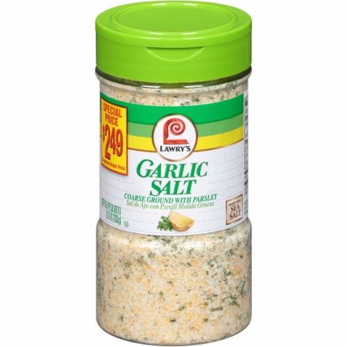 Lawry's Garlic Salt Perspective: front