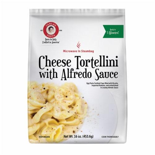 Carla's Cheese Tortellini Alfredo Perspective: front