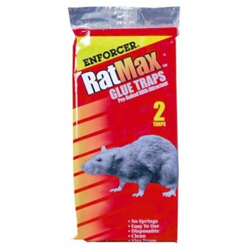 Enforcer RM-2 Rat/Mouse Glue Trap - 2 Pack Perspective: front