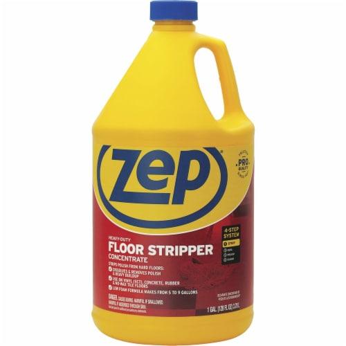 Zep Floor Stripper - 128 oz (8 lb) - 1 Each - Blue Perspective: front