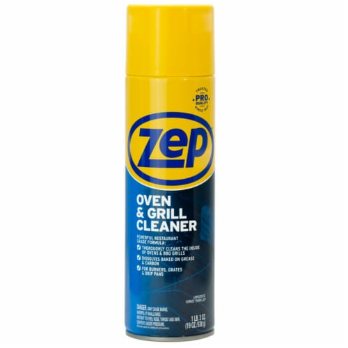 Zep  No Scent Oven And Grill Cleaner  19 oz. Foam - Case Of: 1; Perspective: front