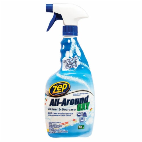 Zep Commercial 32 Oz. All-Around Liquid Oxy Cleaner & Degreaser ZUAOCD32 Perspective: front