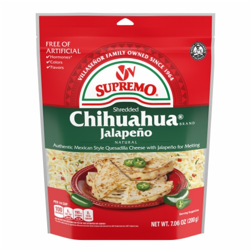 VV Supremo Chihuahua with Jalapeno Shredded Cheese Perspective: front