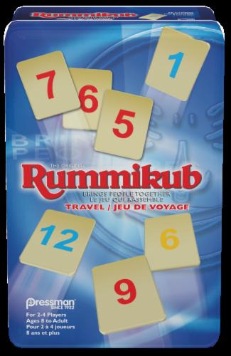 Pressman Rummikub Travel Tin Perspective: front