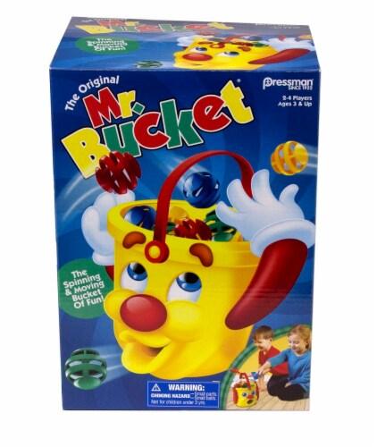 Pressman The Original Mr. Bucket Game Perspective: front
