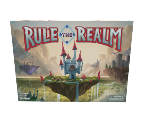 Pressman Rule the Realm Board Game Perspective: front