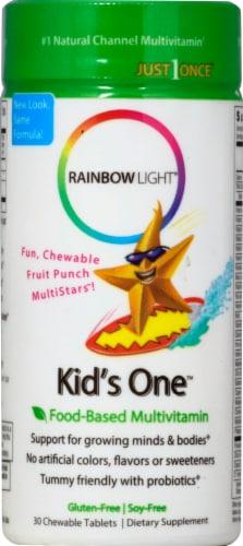 Rainbow Light Kids' One Multivitamin Gluten Free Tablets Perspective: front