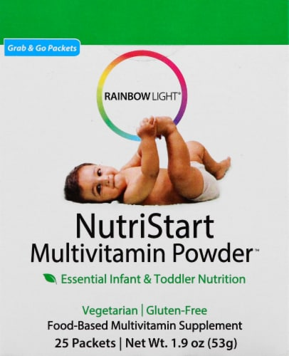 Rainbow Light NutriStart Multivitamin Powder for Infants & Toddlers Perspective: front