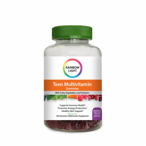 Rainbow Light Teen Multivitamin Gummies Perspective: front
