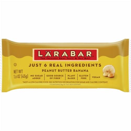 Larabar Gluten Free Peanut Butter Banana Fruit & Nut Bar Perspective: front