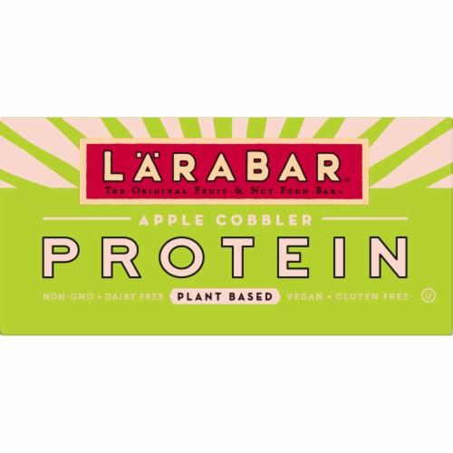 Larabar Apple Cobbler Plant Based Protein Bars Perspective: front