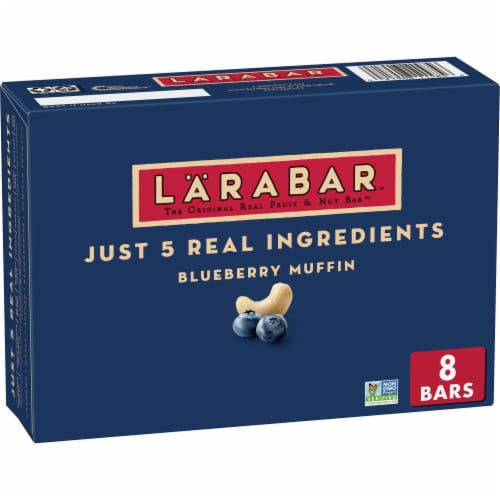 Larabar Blueberry Muffin Fruit & Nut Bars Perspective: front