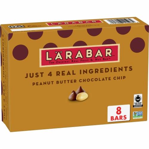 Larabar Peanut Butter Chocolate Chip Fruit & Nut Bars Perspective: front