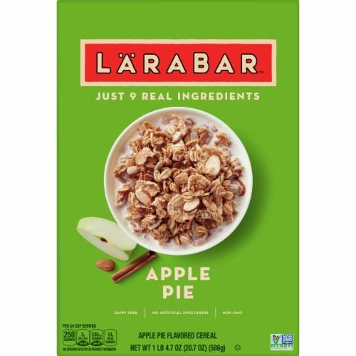 Larabar Apple Pie Cereal Perspective: front