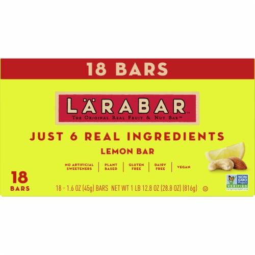 Larabar Lemon Fruit & Nut Bars Perspective: front