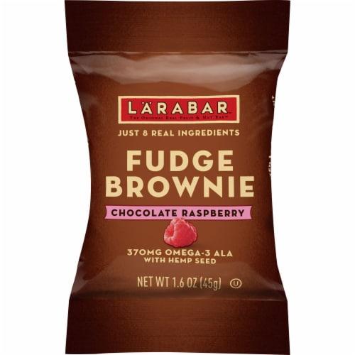 Larabar Chocolate Raspberry Brownie with Hemp Seed Perspective: front