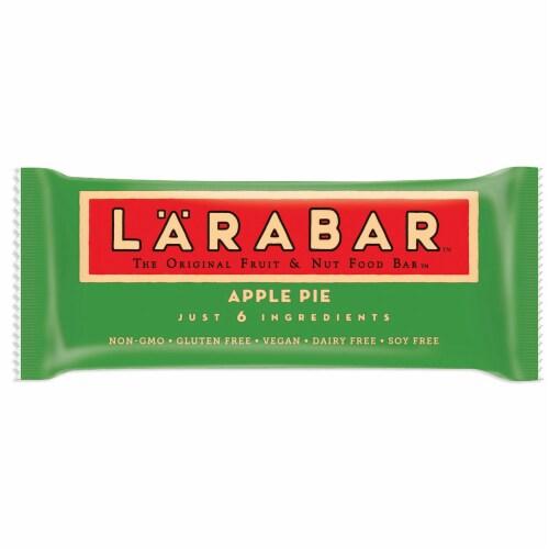 Larabar Apple Pie Bar, 25.6 Ounce -- 4 per case. Perspective: front