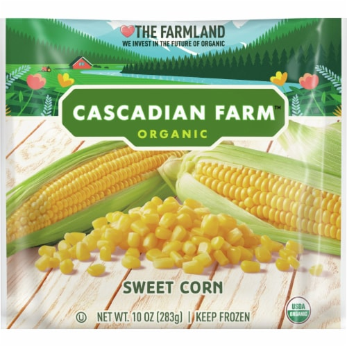 Cascadian Farm Premium Organic Sweet Corn Perspective: front