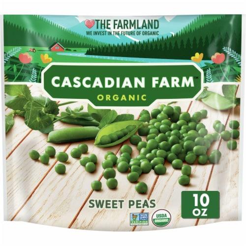 Cascadian Farm Premium Organic Sweet Peas Perspective: front