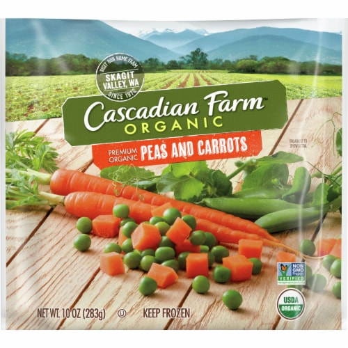Cascadian Farm Premium Organic Peas & Carrots Perspective: front