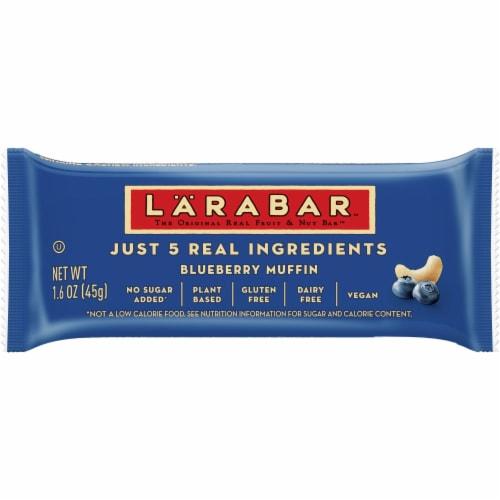 Larabar Blueberry Muffin Fruit & Nut Bar Perspective: front