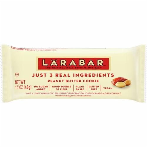 Larabar Peanut Butter Cookie Fruit & Nut Bar Perspective: front