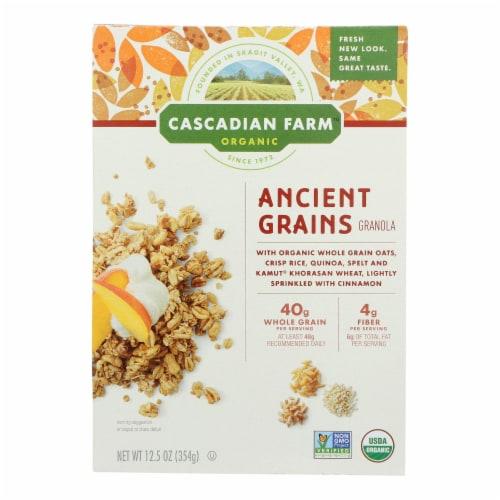 Cascadian Farm Organic Granola - Ancient Grains - Case of 6 - 12.5 oz. Perspective: front