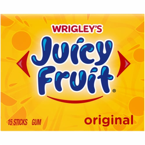 Juicy Fruit Gum Perspective: front