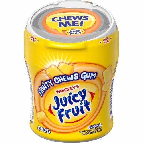JUICY FRUIT Fruity Chews Original Sugar Free Bulk Chewing Gum 40 Count Perspective: front