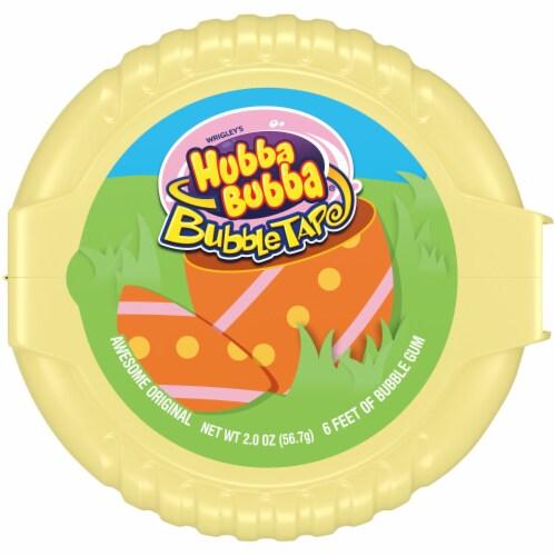 HUBBA BUBBA Original Easter Bubble Gum Tape Perspective: front