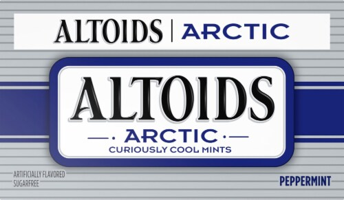 Altoids Arctic Curiously Cool Peppermint Mints (8 Pack) Perspective: front