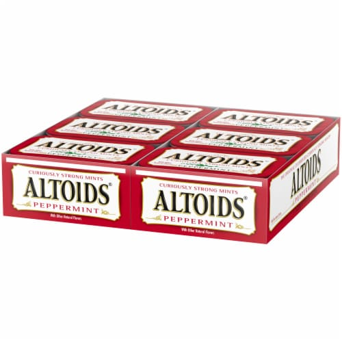 Altoids Peppermint Mints Perspective: front