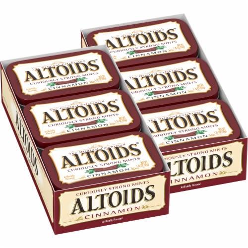 Altoids Cinnamon Breath Mints Perspective: front