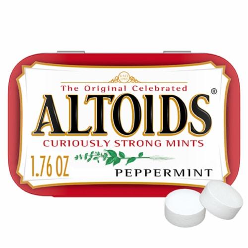 Altoids Classic Peppermint Breath Mints Perspective: front