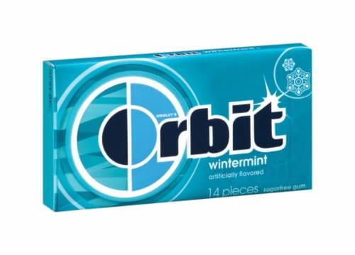 Orbit Wintermint Gum Perspective: front