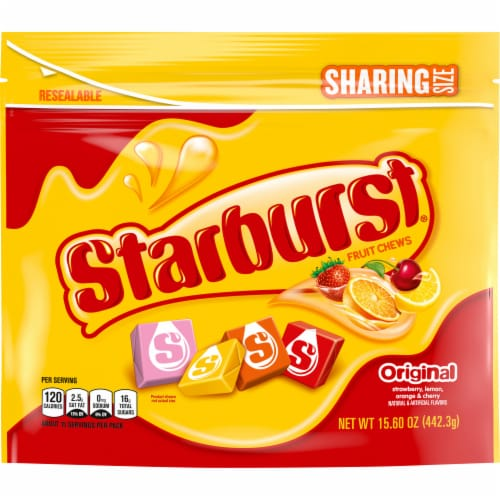 Starburst Original Chewy Candy Sharing Size Perspective: front