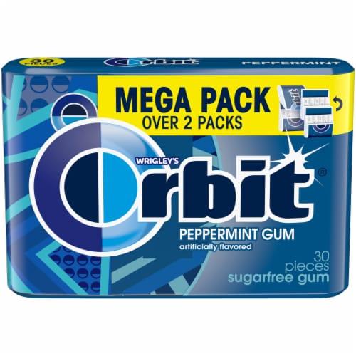Orbit Peppermint Sugarfree Gum Mega Pack Perspective: front